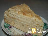 Приготовление торта Наполеон: шаг 16