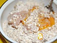 Приготовление куриных котлет с овсяными хлопьями: шаг 3