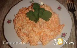 "Морковный салат ""Солнечный"""