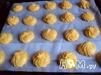 Приготовление эклеров из тыквы: шаг 5
