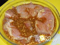Приготовление мяса запеченного в рукаве: шаг 3
