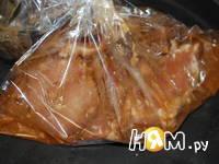 Приготовление мяса запеченного в рукаве: шаг 4