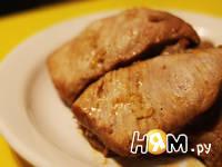 Приготовление мяса запеченного в рукаве: шаг 6