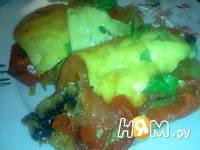 Приготовление мяса запеченного с овощами: шаг 20