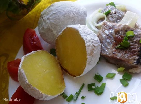 Рецепт Печеная картошечка