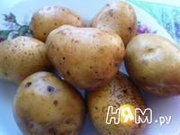 Приготовление печеной картошки: шаг 1