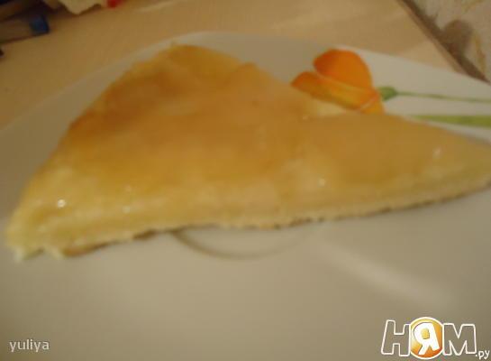 """Пирог """"Татен"""" (с яблоками)"""
