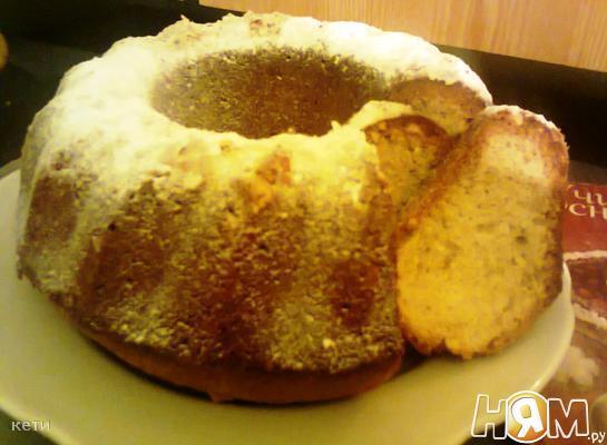 Ореховый кекс
