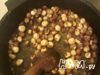 Приготовление орехового кекса: шаг 2