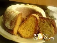 Приготовление орехового кекса: шаг 15