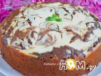 Приготовление пирога с творожной начинкой: шаг 8