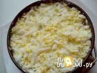 Приготовление cалата с редиской и яйцом: шаг 6