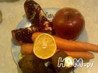 Приготовление фруктово-овощного сока: шаг 1