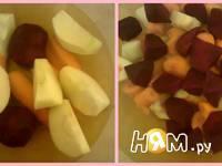 Приготовление фруктово-овощного сока: шаг 2