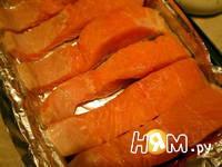 Приготовление запеченного лосося с сыром: шаг 2