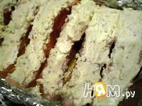 Приготовление запеченного лосося с сыром: шаг 7