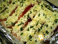 Приготовление запеченного лосося с сыром: шаг 8