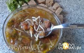 Суп из чечевицы с изюмом