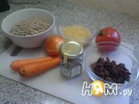 Приготовление супа из чечевицы с изюмом: шаг 1