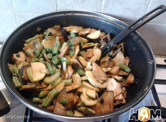 Овощное рагу по-бирмански