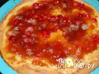 Приготовление кукурузного пирога со сливами: шаг 8
