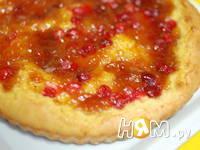 Приготовление кукурузного пирога со сливами: шаг 9