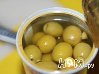 Приготовление канапе с сыром дор блю: шаг 1
