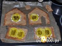 Приготовление новогодних пряничных домиков: шаг 8