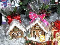 Приготовление новогодних пряничных домиков: шаг 19