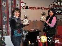 Приготовление новогодних пряничных домиков: шаг 21