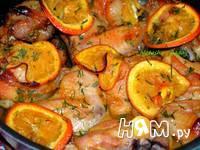 Приготовление курицы в медово-апельсиновом маринаде: шаг 3
