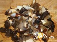 Приготовление индейки с грибами: шаг 1