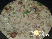 Приготовление индейки с грибами: шаг 7