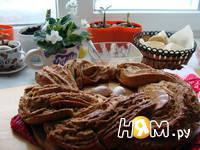 Приготовление рецепта Чесночный венок ( пряный хлеб): шаг 10
