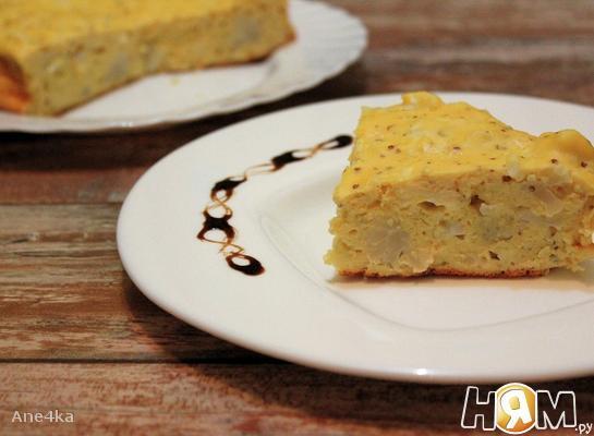 Рецепт Пирог с цветной капустой