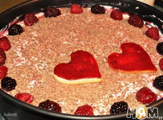 Ягодный торт-тирамису