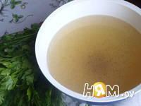 Приготовление куриного бульона: шаг 6