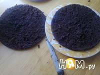Приготовление торта с ежевикой: шаг 12