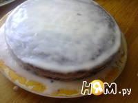 Приготовление торта с ежевикой: шаг 14