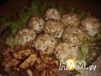 Приготовление творожно-сырных шариков: шаг 7