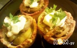 Тарталетки для закусочных салатов