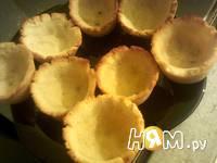 Приготовление тарталеток для закусочных салатов: шаг 9