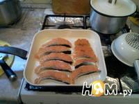Приготовление лосося на гриле: шаг 3