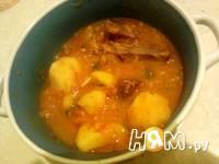 Приготовление супа говяжьего с картошкой: шаг 10