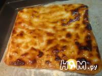 Приготовление пирожного из слоеного теста: шаг 4