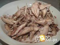 Приготовление холодца из курицы: шаг 4