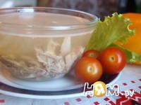 Приготовление холодца из курицы: шаг 7