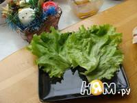 Приготовление салата с семгой и сыром дор блю: шаг 1