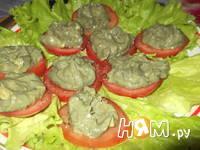 Приготовление закуски с форелью и авокадо: шаг 4