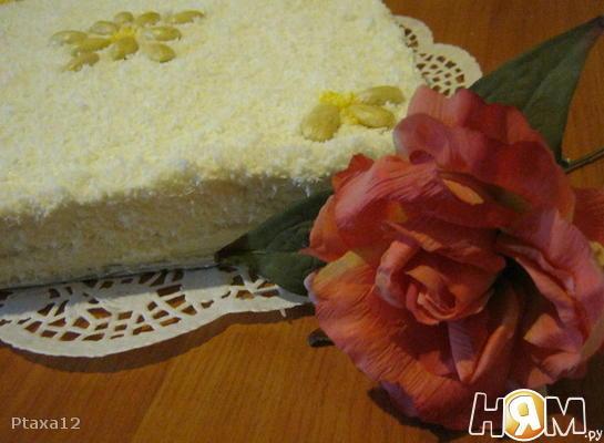 "Торт без выпечки ""РАФАЭЛЛО"""